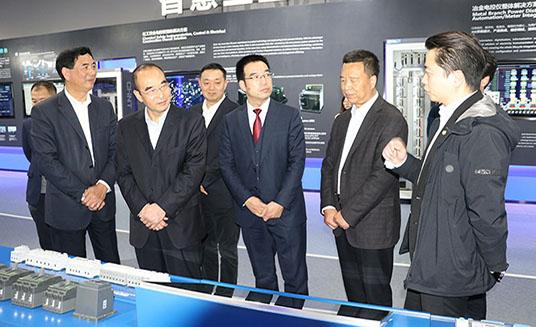 张志明一行赴浙江正泰新能源开发有限公司考察推进战略合作